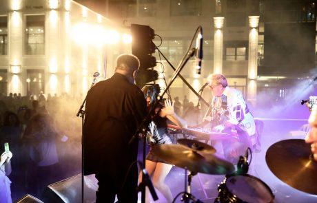 מניו אורלינס- להרצליה: אלפי אנשים הגיעו להופעת הבכורה של פסטיבל 'ג'אז על הים'