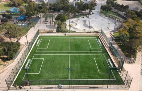 עיריית הרצליה משיקה שירות חדש לתושבים:  מערכת להזמנת מגרשי ספורט