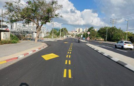 נפתחו נתיבי תחבורה ציבורית ברחוב בן ציון מיכאלי